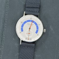 NOMOS Autobahn Steel 41mm White Arabic numerals United States of America, New York, Middletown