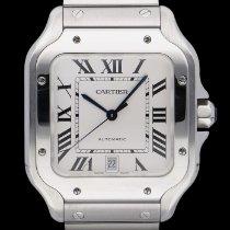 Cartier Santos (submodel) WSSA0009 Sehr gut Stahl 39.8mm Automatik