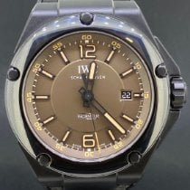 IWC Ceramic Automatic Brown Arabic numerals 46mm pre-owned Ingenieur AMG