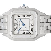 Cartier Panthère Staal Wit
