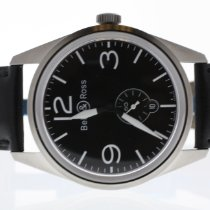 Bell & Ross Vintage Steel 41mm Black Arabic numerals United States of America, Texas, Richardson