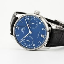 IWC Portuguese Automatic Steel 42.3mm Blue Arabic numerals United States of America, New Jersey, Oradell