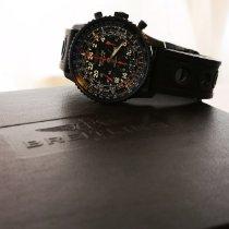 Breitling Navitimer Cosmonaute nuevo Cuerda manual Reloj con estuche y documentos originales MB0210B6/BC79