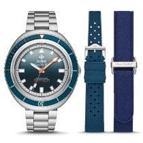 Zodiac Sea Wolf Steel 45mm Blue No numerals