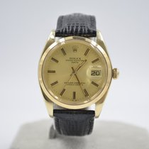 Rolex Oyster Perpetual Date Yellow gold 34mm Champagne No numerals United Kingdom, St Albans Hertfordshire