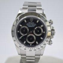 Rolex begagnad Automatisk 40mm Svart Safirglas