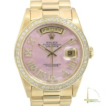 Rolex Day-Date 36 Yellow gold 36mm Pink No numerals United States of America, California, Los Angeles