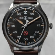 Bell & Ross BR V1 Steel 38.5mm Black Arabic numerals United States of America, Indiana, Indianapolis