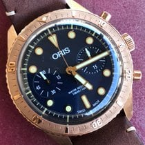 Oris Carl Brashear Bronze 43mm Blue No numerals United States of America, California, Auburn