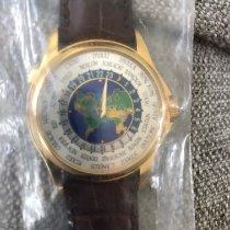 Patek Philippe World Time Желтое золото 39.5mm Cеребро