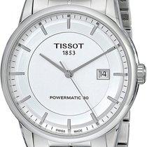 Tissot Luxury Automatic Сталь 41mm Cеребро Без цифр
