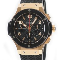 Hublot Oro rojo Automático Negro 44mm usados Big Bang 44 mm