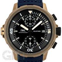 IWC Automático Negro 46mm usados Aquatimer Chronograph