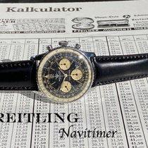 Breitling Navitimer Acél 41mm Fekete Számjegyek nélkül