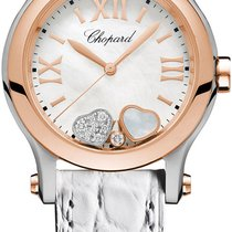 Chopard Happy Sport Gold/Steel 30mm White United States of America, New York, Airmont