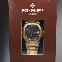 Patek Philippe Nautilus Gold/Stahl 37mm Blau Keine Ziffern Deutschland, Eltville