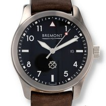 Bremont Steel 43mm Automatic Solo pre-owned United States of America, New Hampshire, Nashua