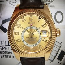 Rolex Sky-Dweller Yellow gold 42mm Champagne Arabic numerals United States of America, Florida, 33431