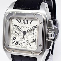 Cartier 2740 Steel Santos 100 41mm pre-owned United States of America, Florida, 33431