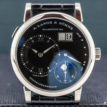 A. Lange & Söhne Lange 1 White gold 38.5mm Black Roman numerals United States of America, Massachusetts, Boston
