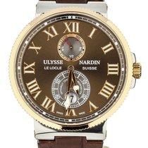 Ulysse Nardin Marine Chronometer 43mm Gold/Steel 43mm Brown United States of America, Illinois, BUFFALO GROVE