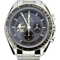 Omega Speedmaster Gold/Steel 42mm Black United States of America, Illinois, BUFFALO GROVE