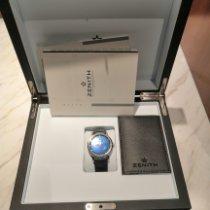 Zenith Elite Acier 39mm Bleu Sans chiffres France, Meudon