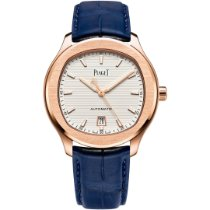 Piaget Rose gold Automatic White 42mm new Polo