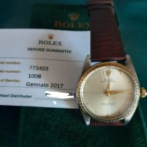 Rolex Oyster Perpetual 34 Acero 34mm Oro Sin cifras