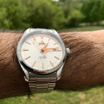 Omega Seamaster Aqua Terra Steel 42.2mm White United States of America, New Jersey, Stewertsville