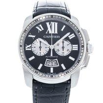 까르띠에 칼리브 드 까르띠에 크로노그래프 W7100060 2010 중고시계