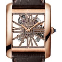 Cartier Tank MC Rose gold 34.5mm Transparent United States of America, New York, NY