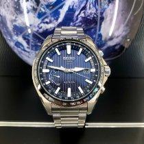 Seiko Astron GPS Solar Chronograph SSE159J1 Ny Stål 45mm Kronograf
