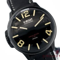 U-Boat new Quartz Luminous numerals Luminous hands Only Original Parts Luminous indices 45mm Steel Sapphire crystal
