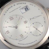 A. Lange & Söhne Lange 1 Or blanc 38.5mm Argent