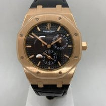 Audemars Piguet Royal Oak Dual Time pre-owned 39mm Crocodile skin