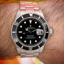 Rolex Submariner Date Acier 40mm Noir Sans chiffres France, Nice