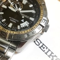 Seiko Superior pre-owned 45mm Black Date Steel