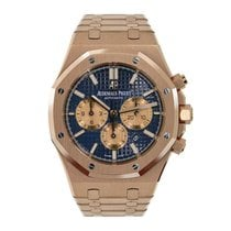 Audemars Piguet Royal Oak Chronograph Rose gold 41mm Blue