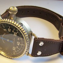 Leonidas Steel Manual winding Heuer / Leonidas A Ritorno Bomben Abwurf Stoppuhr Bomb Timer pre-owned