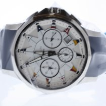 Corum Admiral's Cup Legend 42 Steel 42mm White No numerals United States of America, Texas, Richardson
