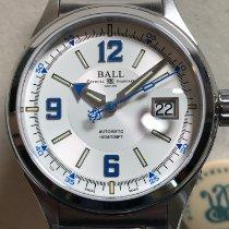Ball Fireman Racer Steel 40mm White Arabic numerals United States of America, Massachusetts, Boston