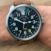 Zeno-Watch Basel OS Pilot Acero 47mm Negro