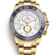 Rolex Yacht-Master II Yellow gold 44mm No numerals