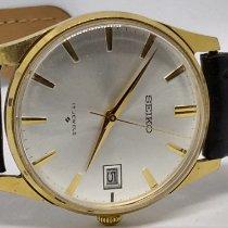Seiko Ouro amarelo 34,5mm Corda manual 66023 usado Brasil, Vargem Grande do Sul