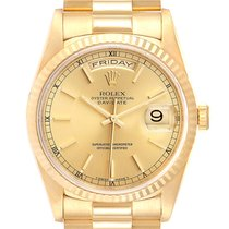Rolex 18238 Yellow gold 1995 Day-Date 36 36mm pre-owned United States of America, Georgia, Atlanta