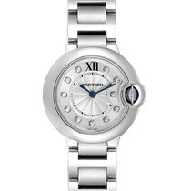 Cartier WE902073 Steel 2014 Ballon Bleu 28mm 29mm pre-owned United States of America, Georgia, Atlanta