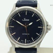 Sinn 556 Acier 38.5mm Bleu Sans chiffres