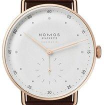 NOMOS Rose gold Automatic White 38,5mm new Metro Neomatik
