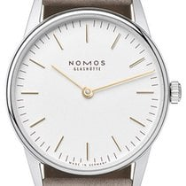 NOMOS Orion 33 new 2021 Manual winding Watch with original box and original papers 320